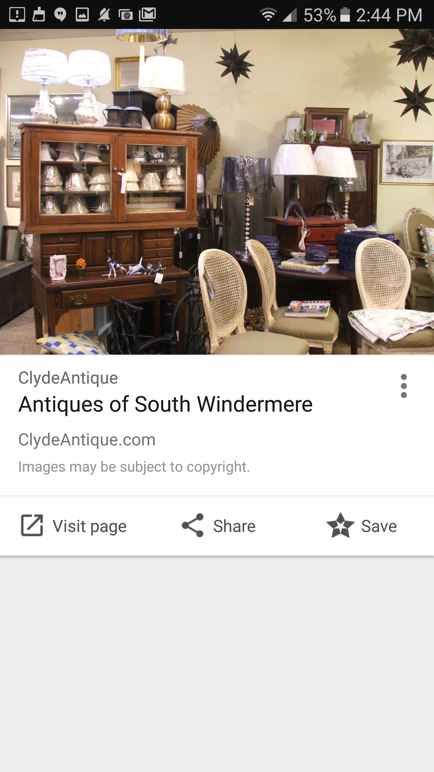 Antiques Of South Windermere