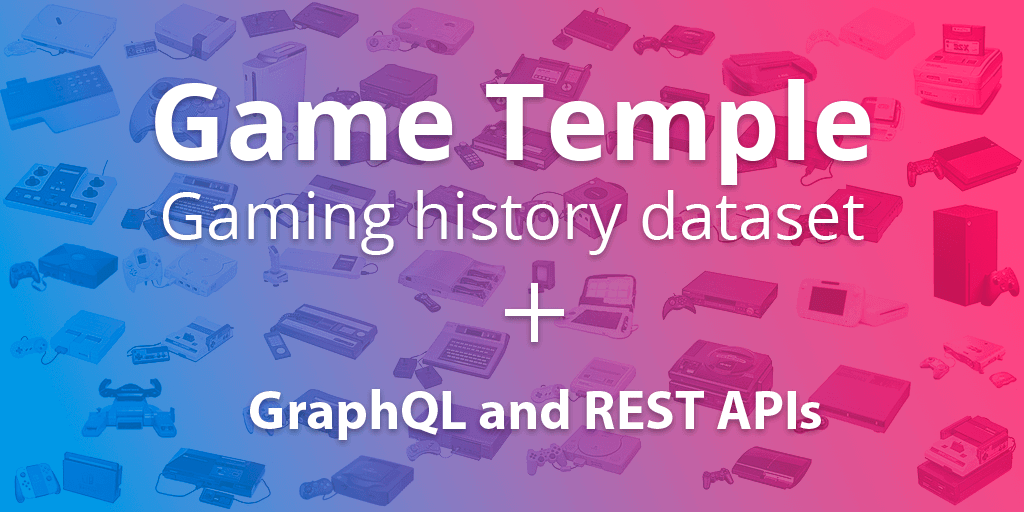 Game Temple: The gaming history dataset | Main Image