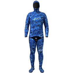 XT DIVING ENEDRA CAMOUFLAGE BLUE