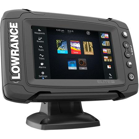 "Elite 5   GPS/βυθόμετρο/Chatplotter/ανιχνευτής ψαριών με έγχρωμη οθόνη 5"" LOWRANCE"