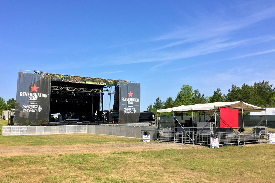 Concord, NC / SL-320 Mobile Stage and FOH