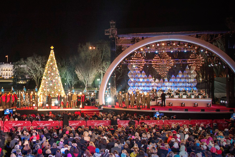 National Christmas Tree Lighting.Mountain Productions Inc Portfolio National Christmas