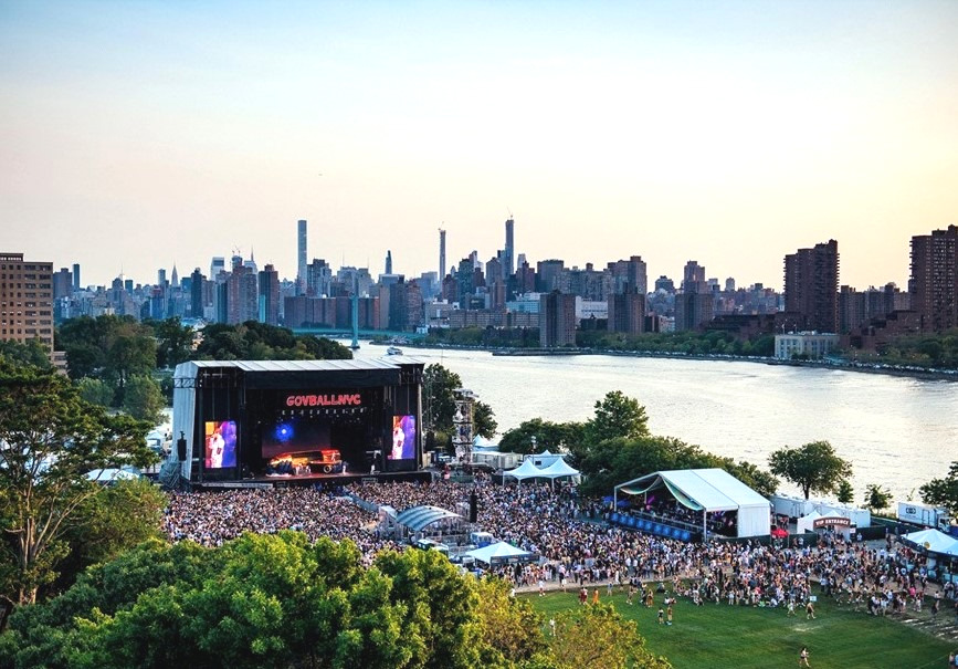 Randall's Island, NYC / MTN Truss HD+ System and Sam 575, 2019