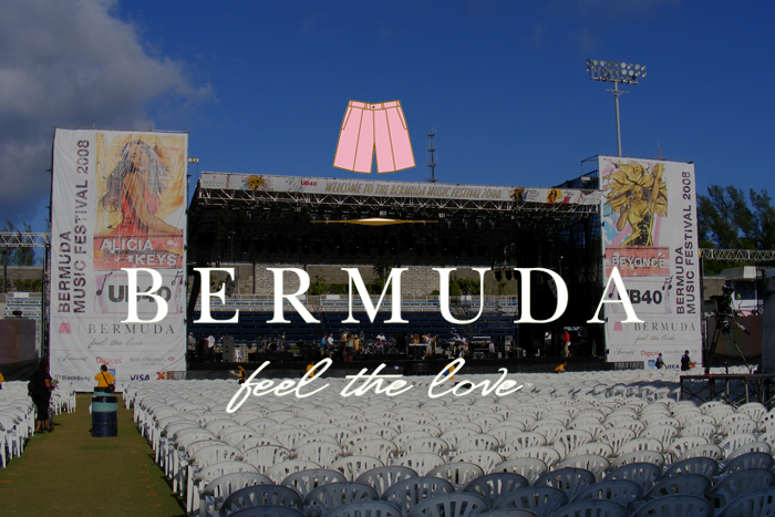 Bermuda / Custom Printed Softgoods & Scaffold Video Support