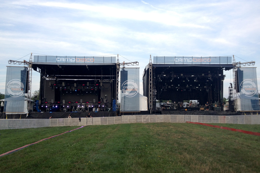Albany, NY / Two SAM-550 Mobile Stages