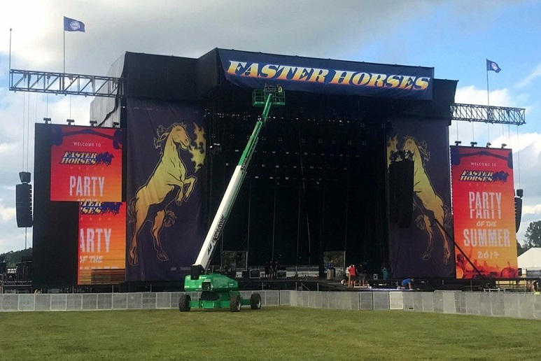 Faster Horses, 2017