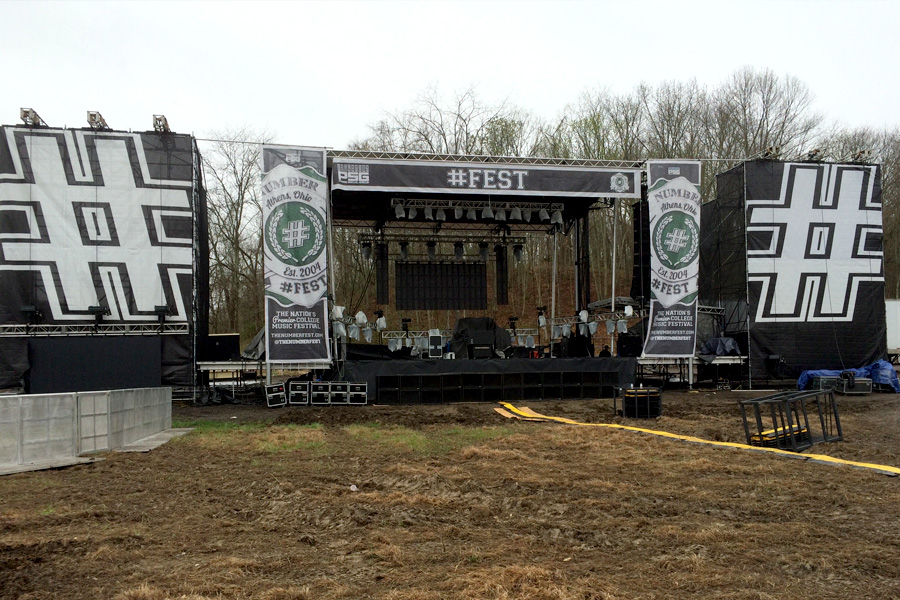 Athens, OH / SL-320 Mobile Stage with Scaffold Wings