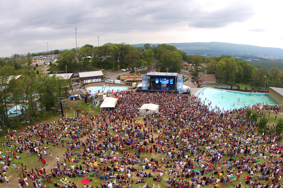 Montage Mountain, PA / SAM-550 Mobile Stage