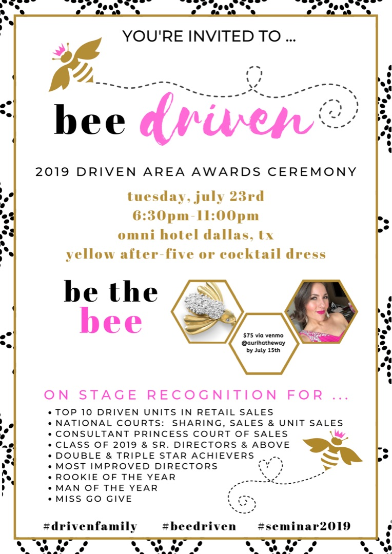Mary Kay Sales Ideas For June 2020 Seminar Year End Message from Auri
