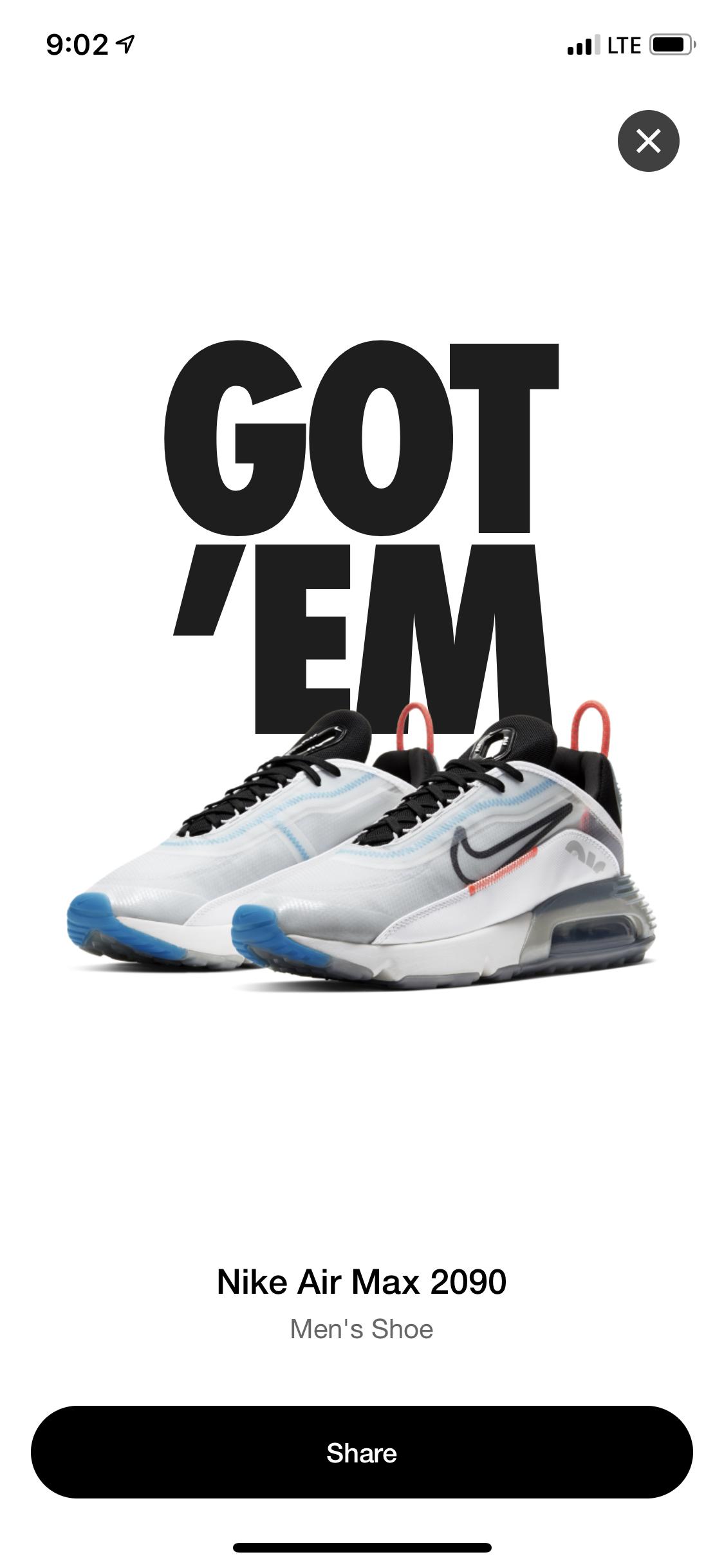 Nike - $160 - Size 13