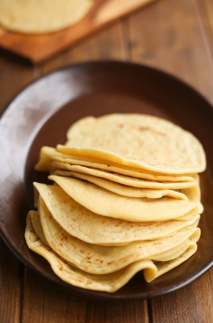 3-Ingredient Grain Free Tortillas