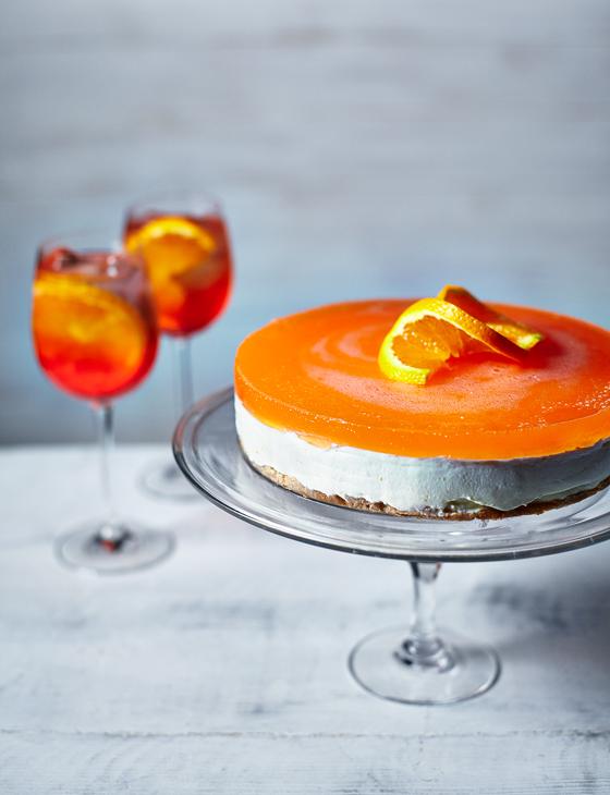 Aperol Spritz Cheesecake Recipe