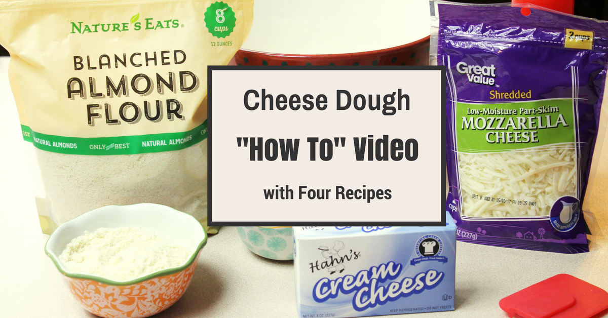 How To Make A Low Carb Cheese Dough - My Table Of Three