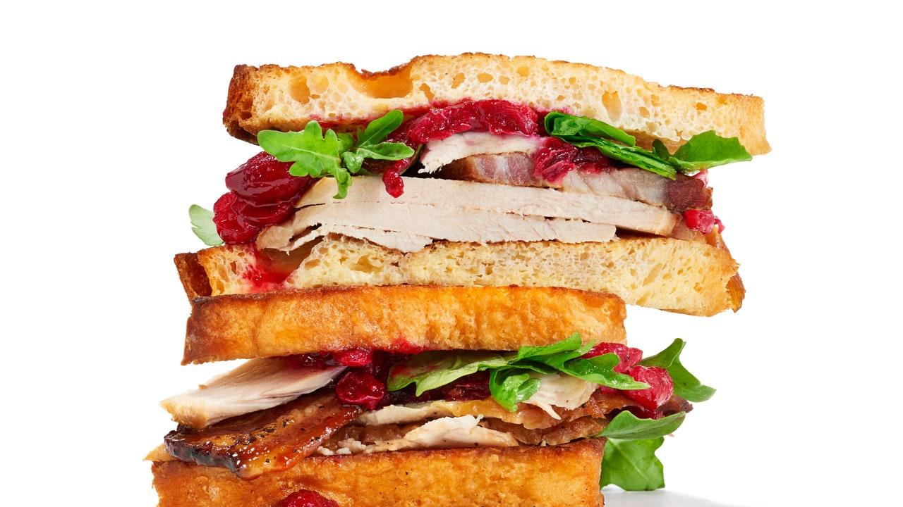 French Toast Turkey Sandwich