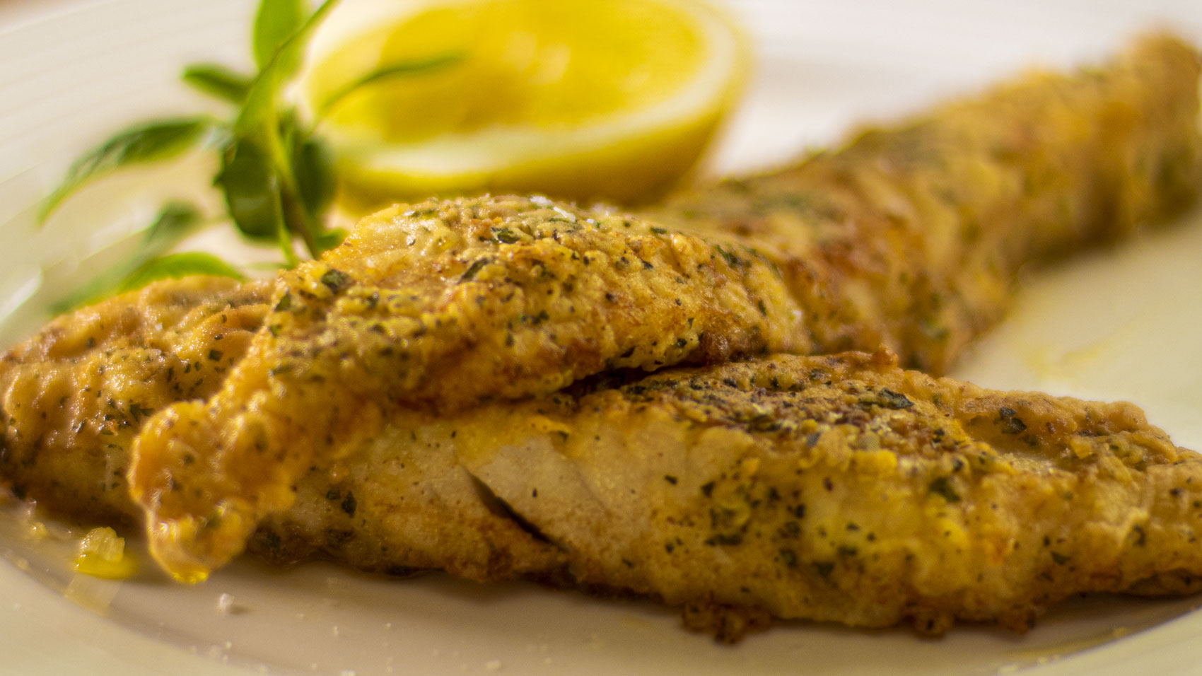 White Fish: Crusted Butter Fried Fish