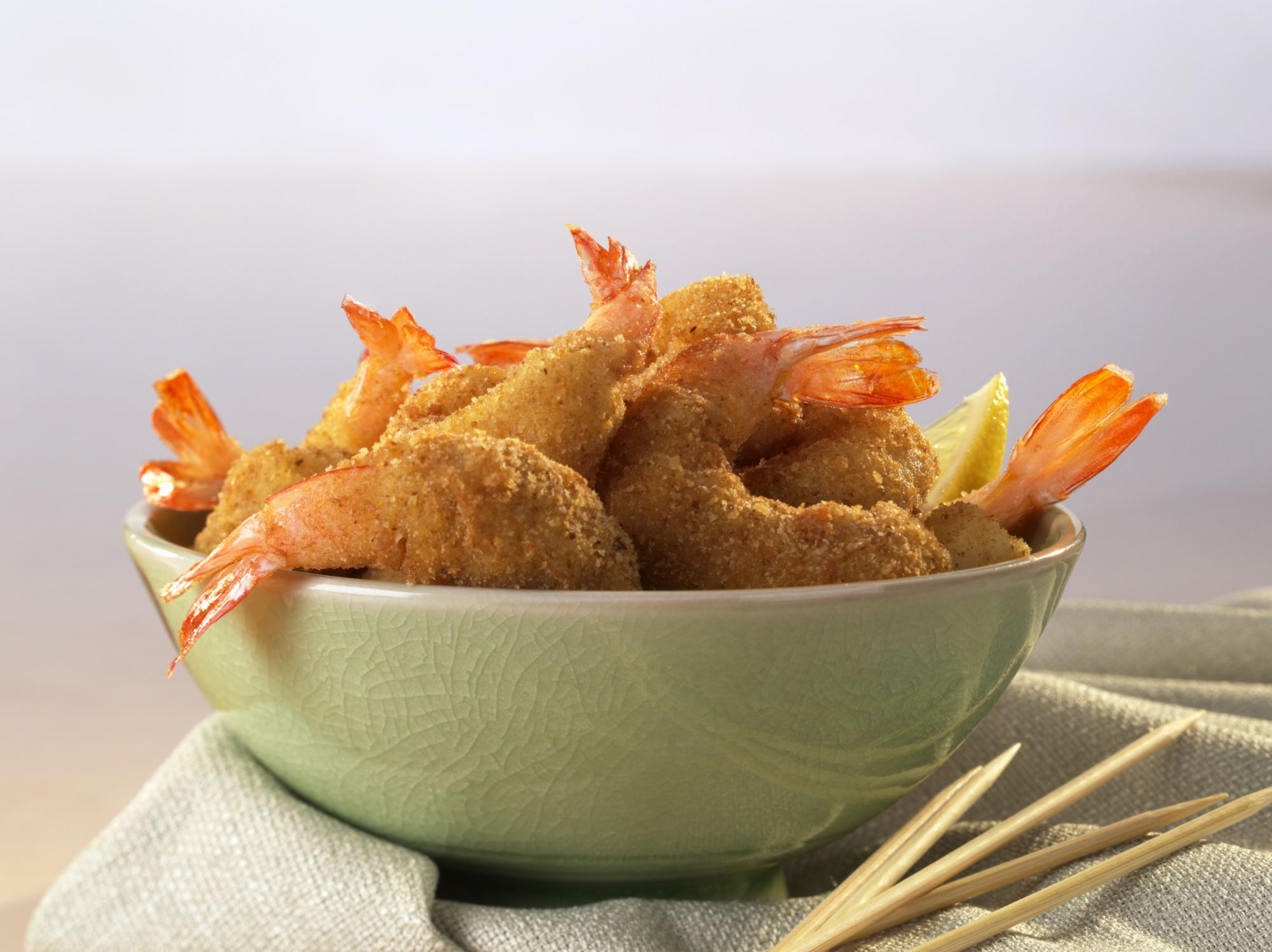 Crunchy, Juicy Fried Panko Shrimp Make A Perfect Appetizer
