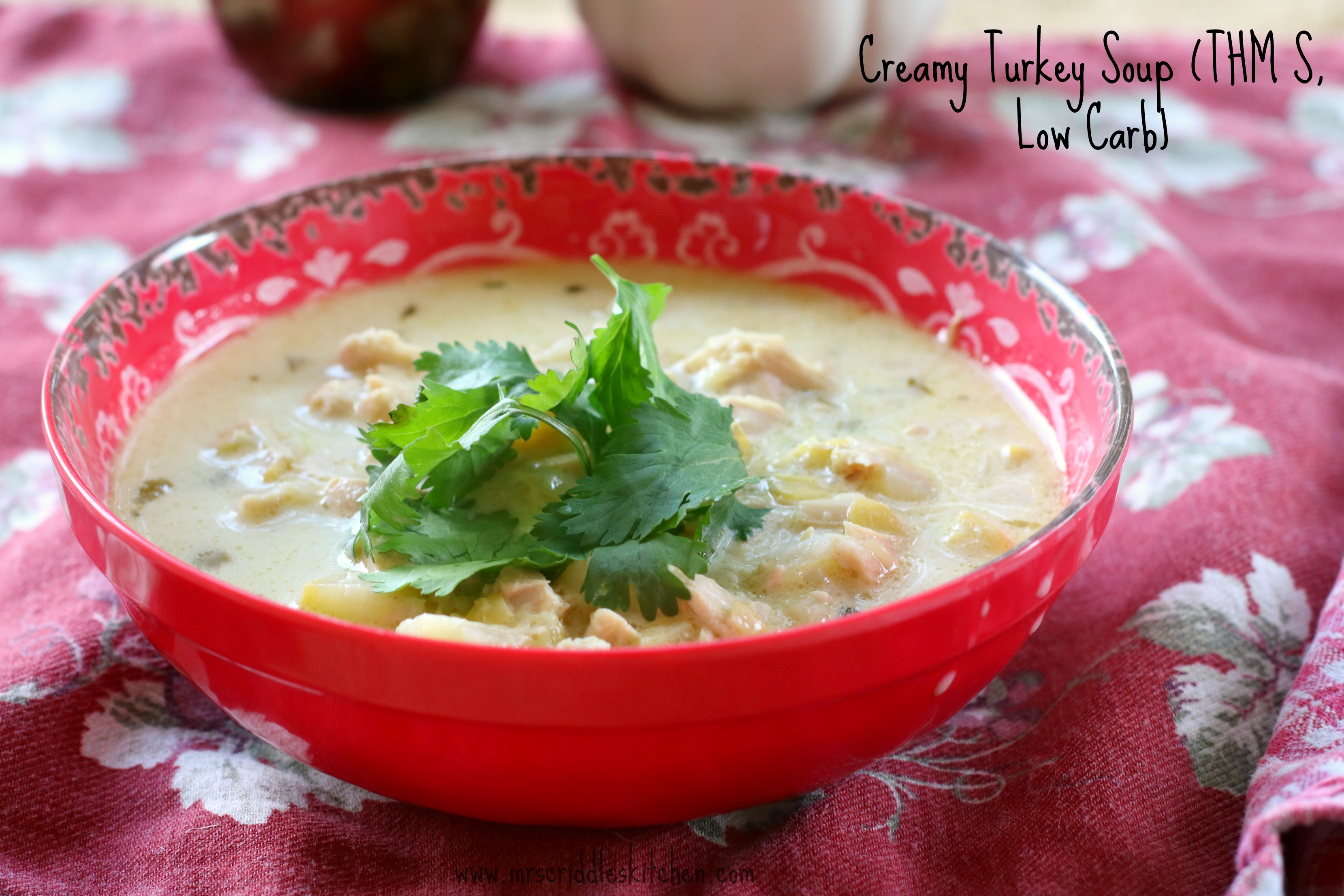 Creamy Turkey Soup - Mrs. Criddles Kitchen