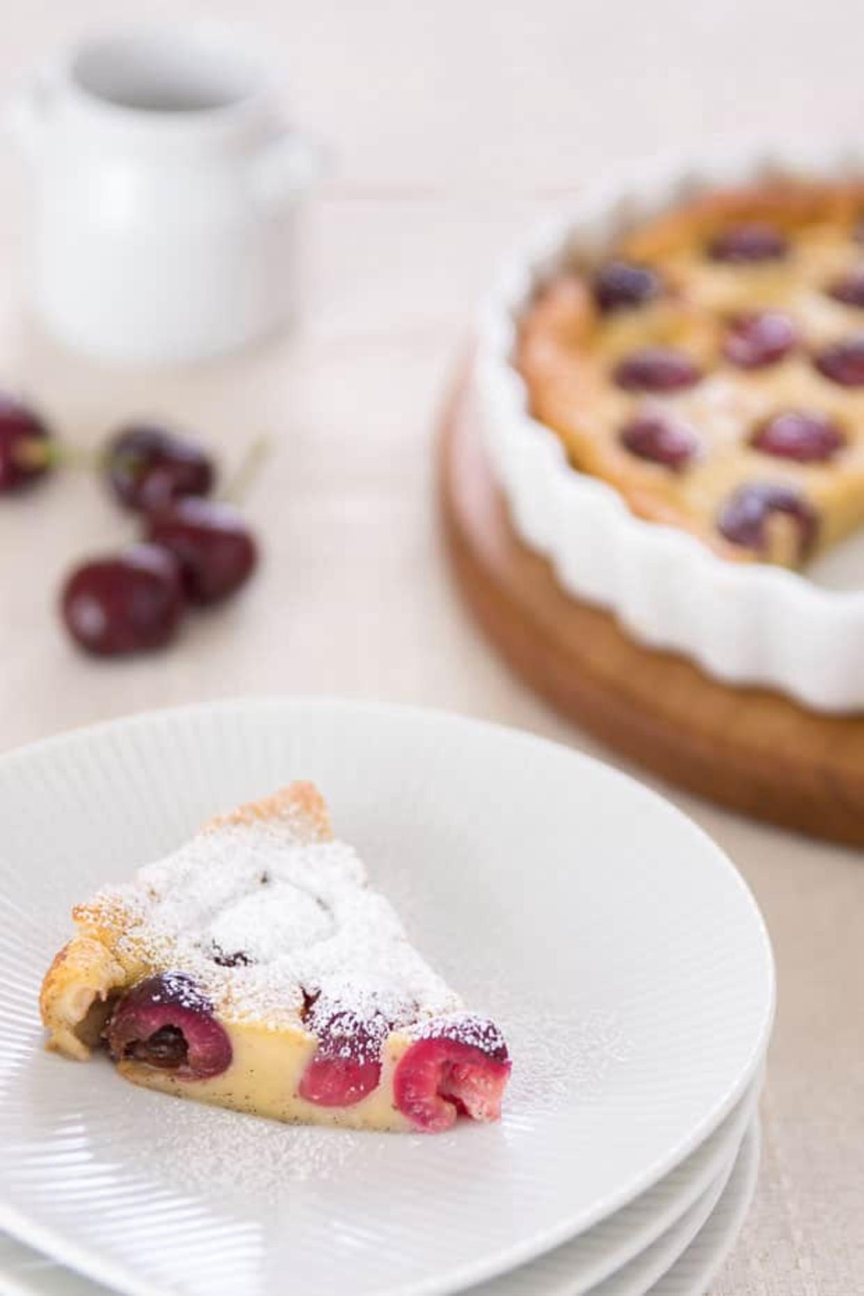 Cherry Vanilla Bean Clafouti Recipe | Online Food Blogger