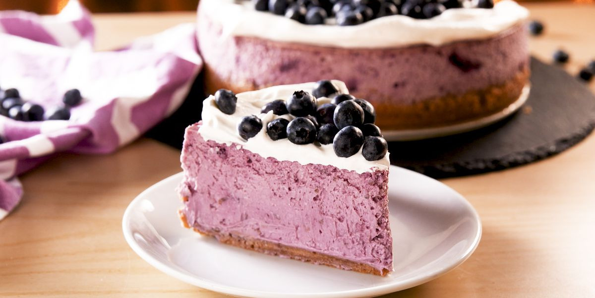 Blueberry Cheesecake Means It's Finally Summer