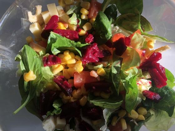 Salata Cu Branzeturi Si Sfecla