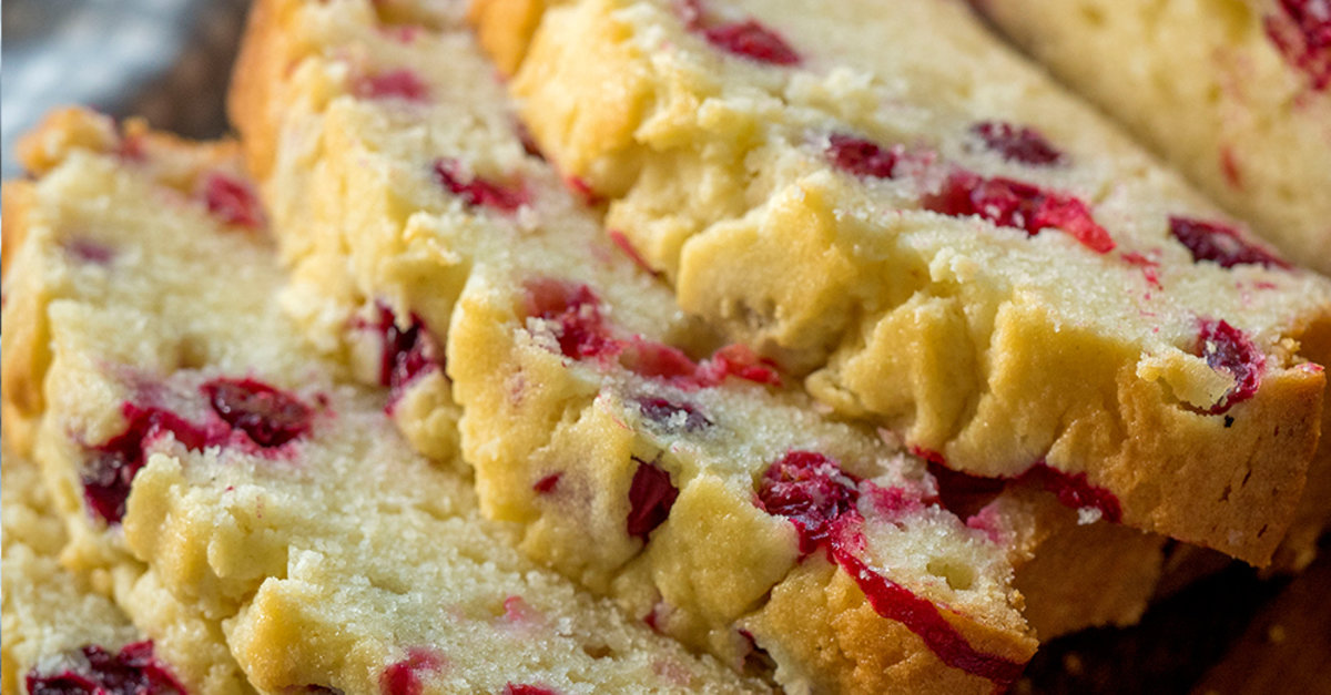 Cream Cheese Cranberry Loaf