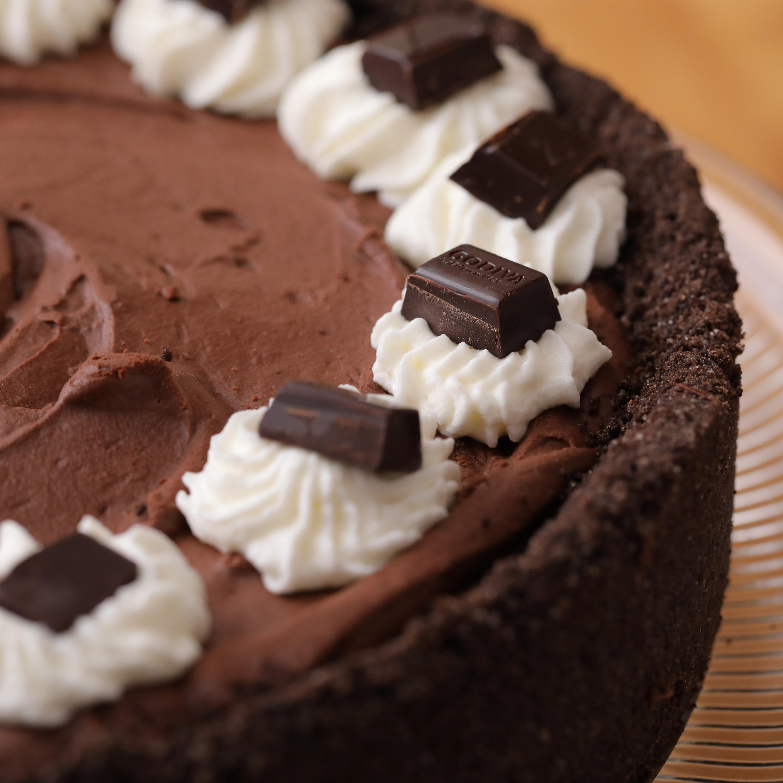 Pie: Godiva Chocolate Icebox Pie