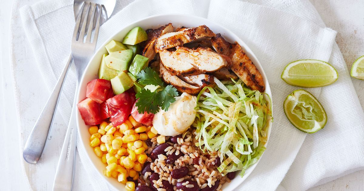 Mexican: Chicken And Rice Bowl