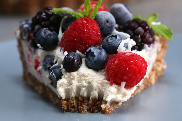 Dairy-Free Berries & Cream Tart