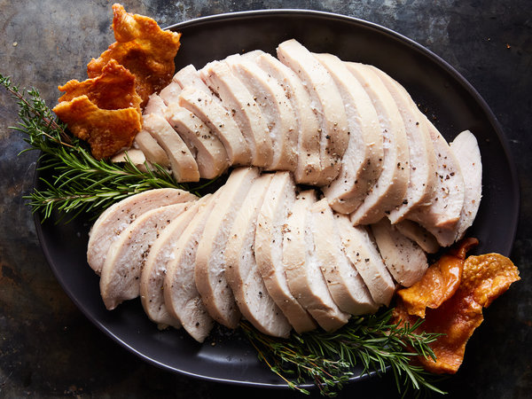 Sous-Vide Turkey Breast With Maple And Rosemary