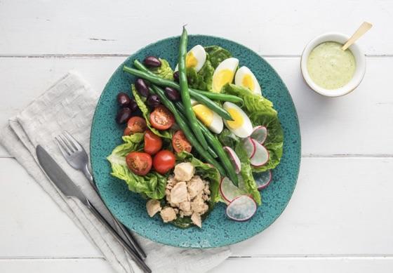 Tuna Salad Nicoise With Lemon Dressing