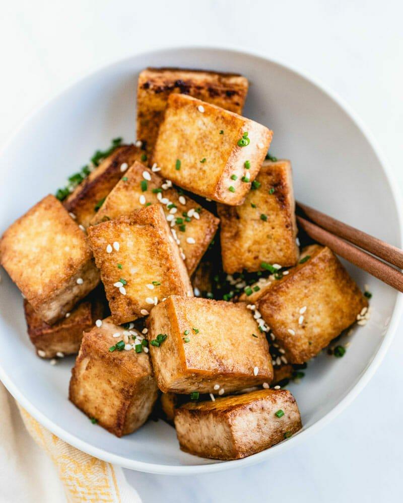 Perfect Pan Fried Tofu
