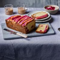 Rhubarb and Cardamon Custard Cake