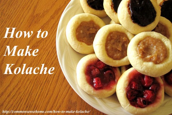 How To Make Kolache - Common Sense Homesteading