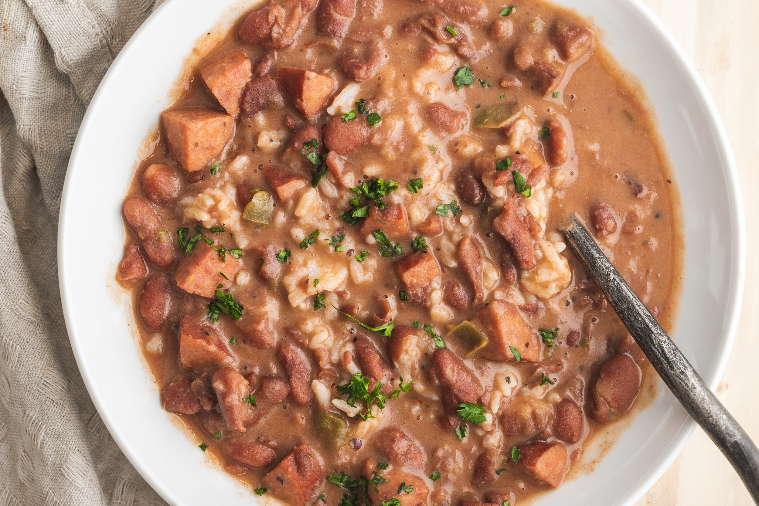 Beans & Rice: Slow Cooker New Orleans Red Beans And Rice