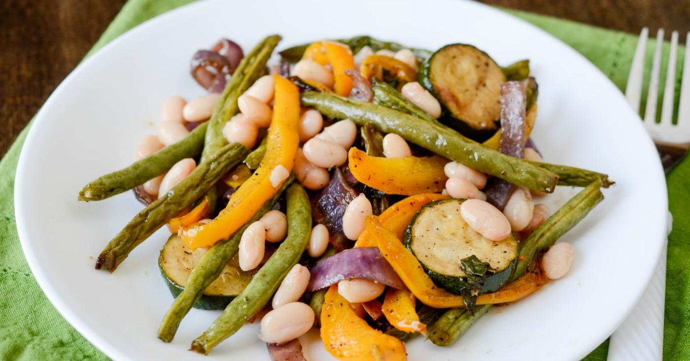 Balsamic And Rosemary Grilled Vegetables Freezer Meal Recipe