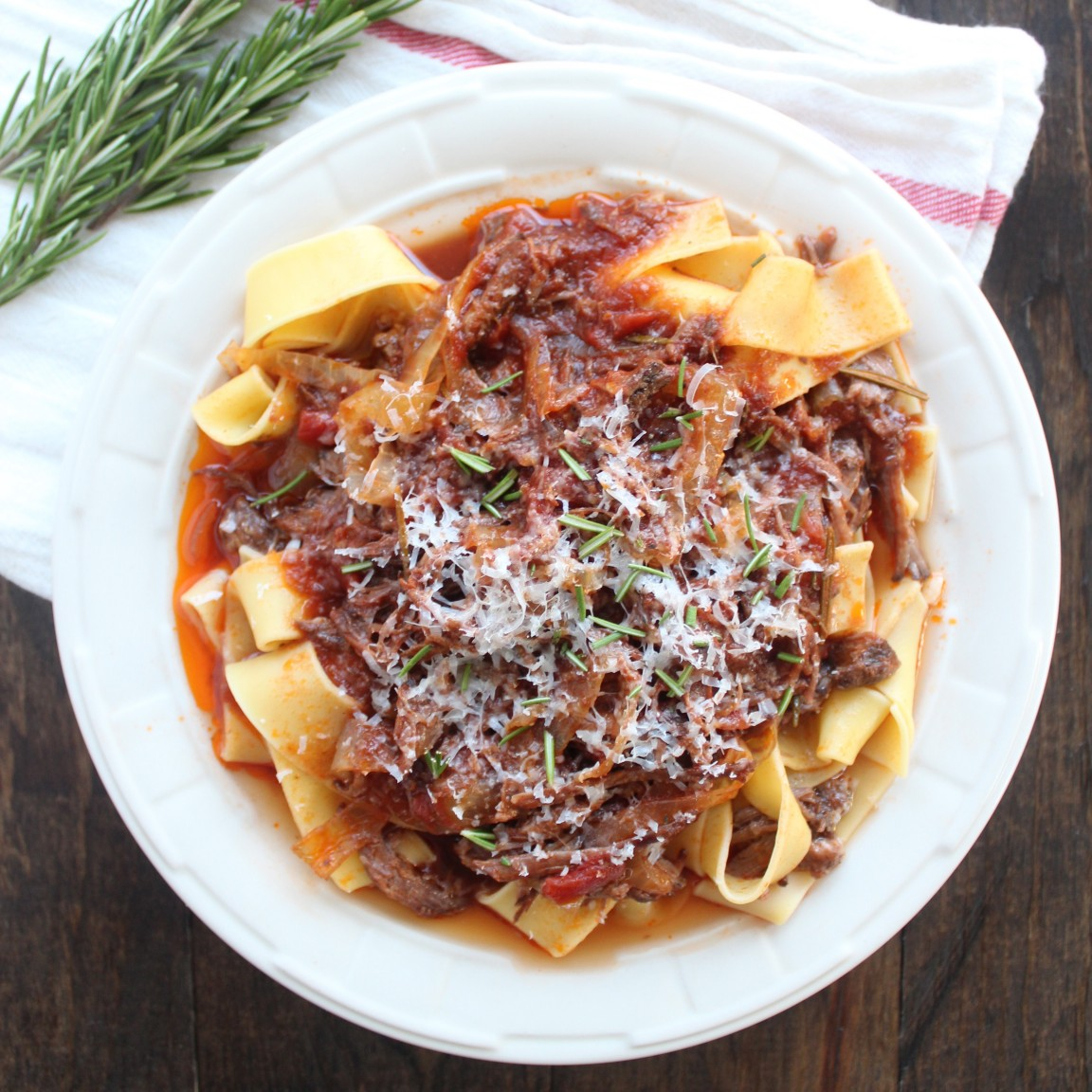 Slow Cooked Beef Ragu Slow Cooked Beef Ragu Recipe - Whitneybond.Com