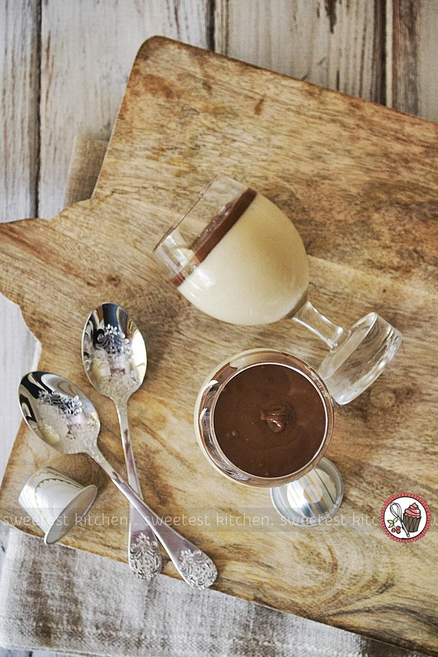 Hazelnut Espresso Panna Cotta - Sweetest Kitchen