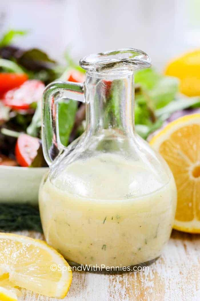Dressing: Lemon Vinaigrette