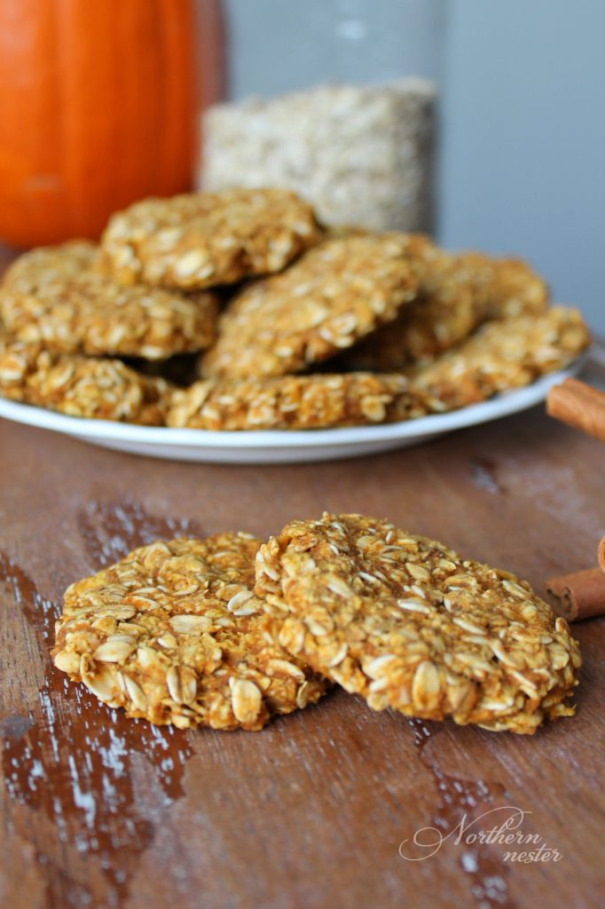 Pumpkin Oatmeal Cookies | THM: E - Northern Nester