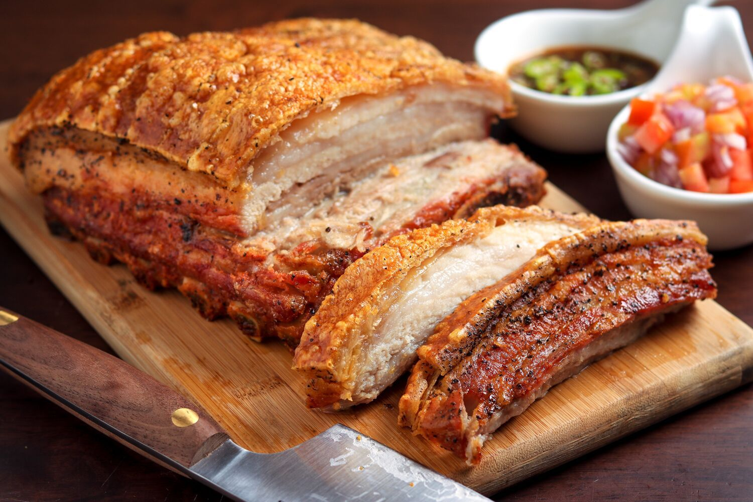 Crispy Slow-Roasted Pork Belly