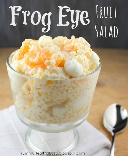 Frog Eye Fruit Salad - Yummy Healthy Easy Frog Eye Fruit Salad