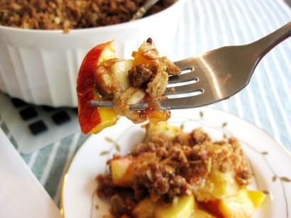 Apple Nectarine Crisp
