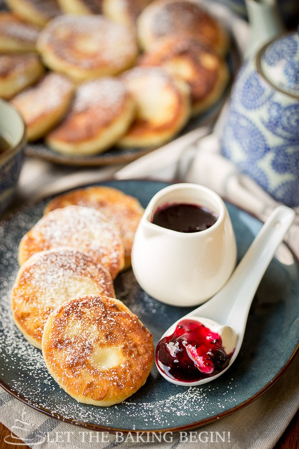 Ricotta Pancakes Recipe - You'll Love How Easy They Are! - Let The Baking Begin!