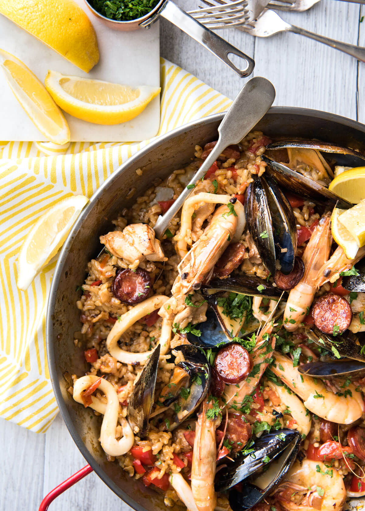 Spanish Paella | Recipetin Eats