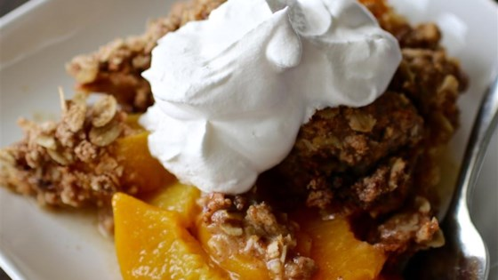 Mom's Peach Crisp Recipe