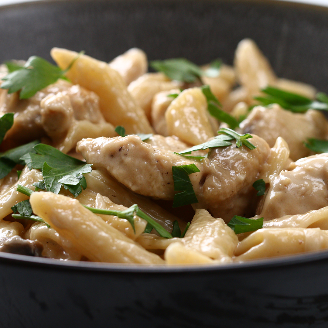 One-Pot Creamy Chicken Marsala Pasta