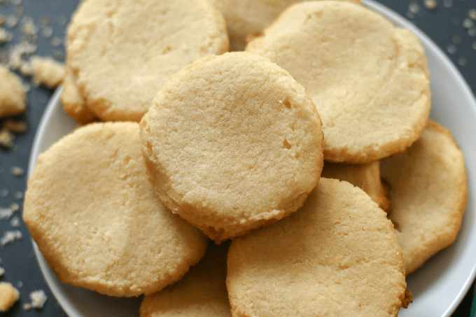Low Carb Keto Shortbread Cookies