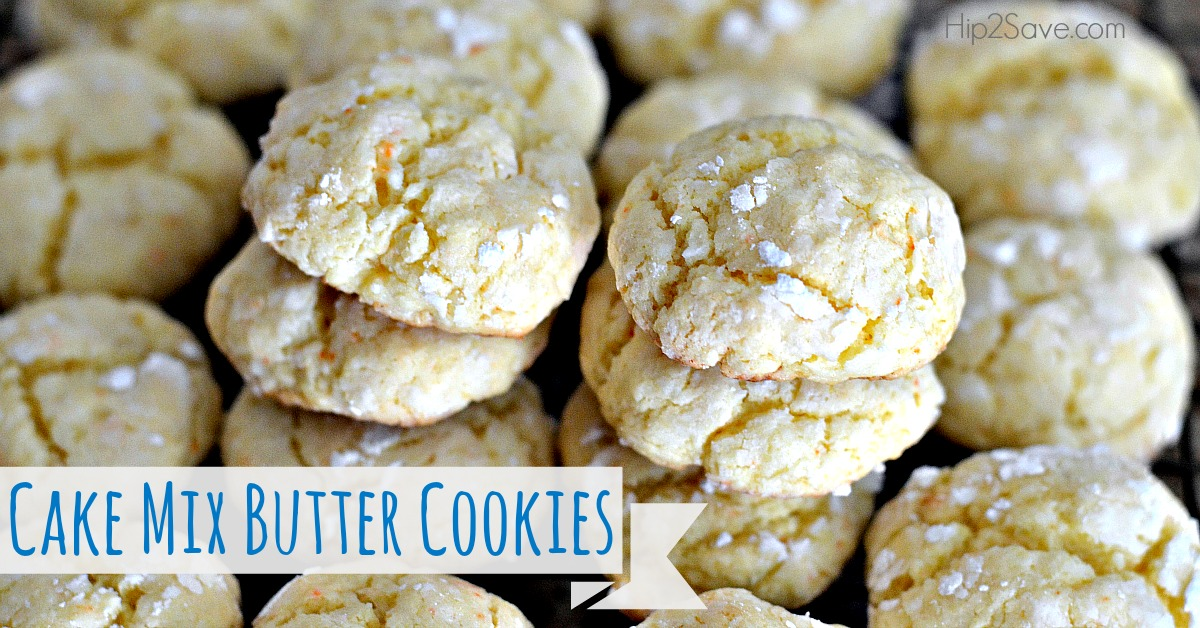 Gooey Cake Mix Butter Cookie Recipe