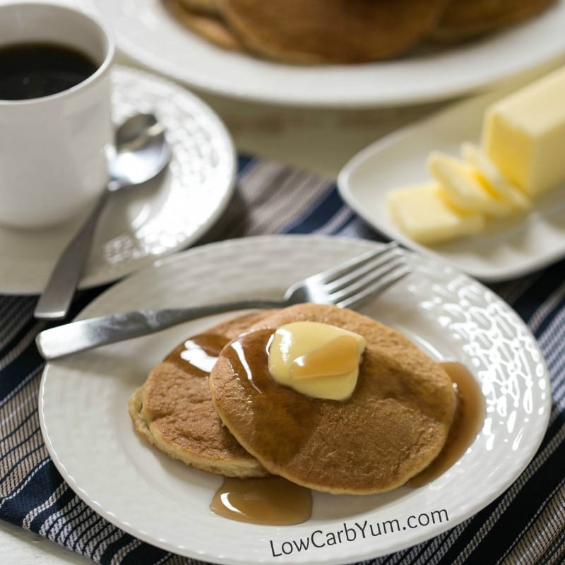 Almond Flour Pancakes - Gluten Free | Low Carb Yum