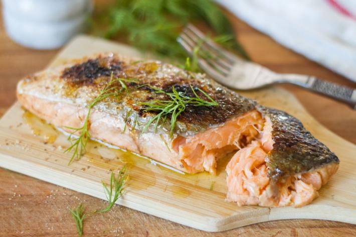 "Sous Vide ""Smoked"" Salmon"